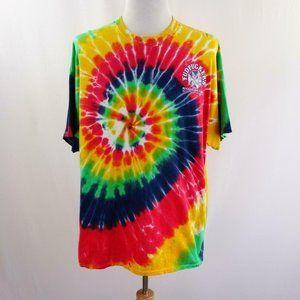 Fudpuckers Beachside Bar & Grill Tie Dye Graphic T